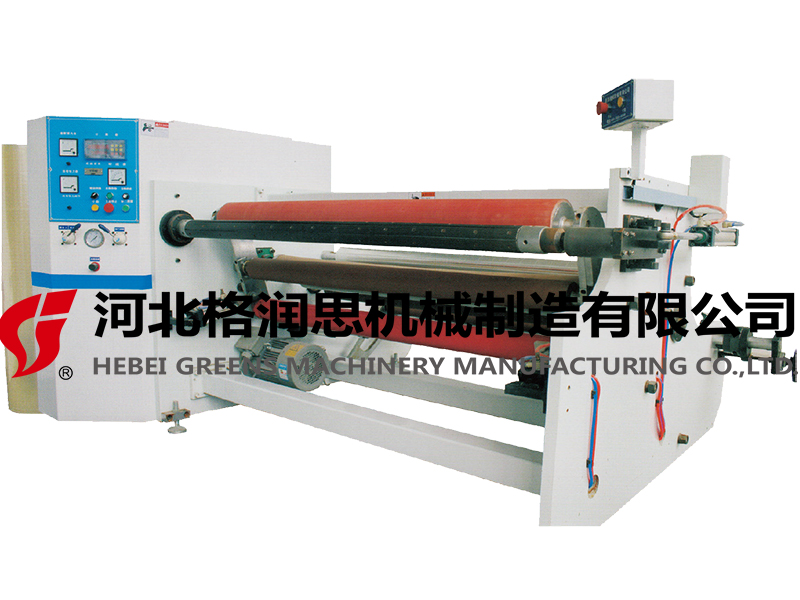 LV-807 SINGLE SHAFTS AUTO REWINDING MACHINE